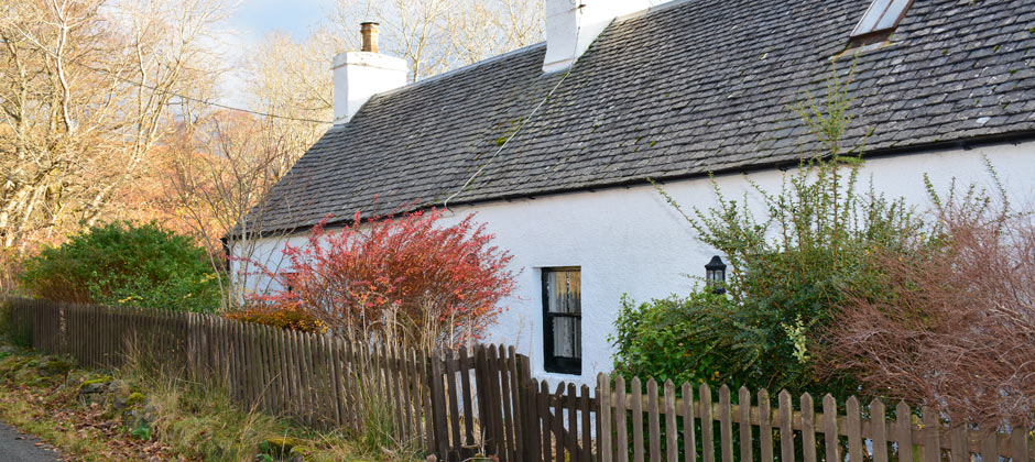 Smithy Cottage, Glenelg in the Scottish Highlands